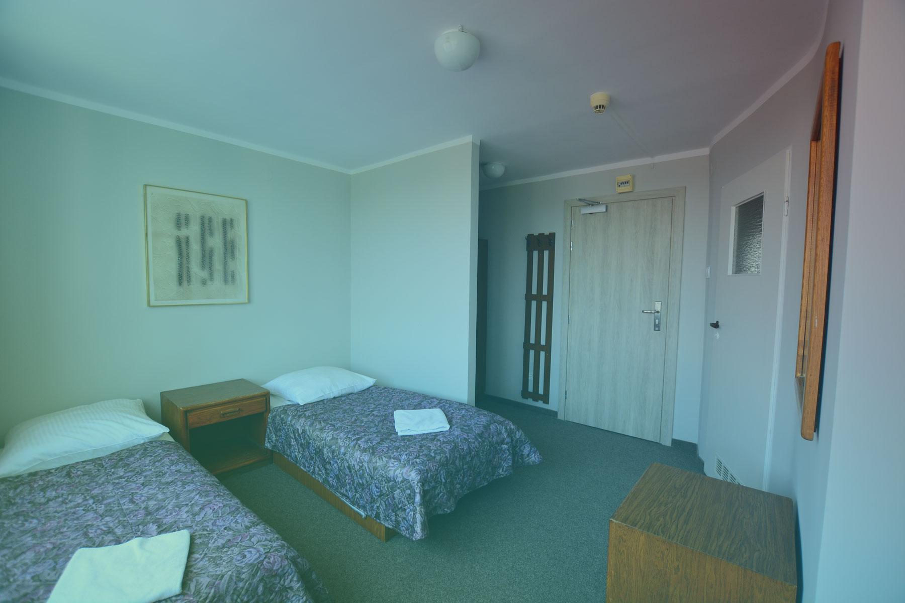 Widok pokoju w Hotelu Felix w Krakowie