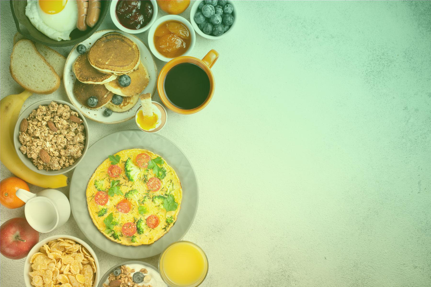 Hotel Felix serwuje pyszne śniadania